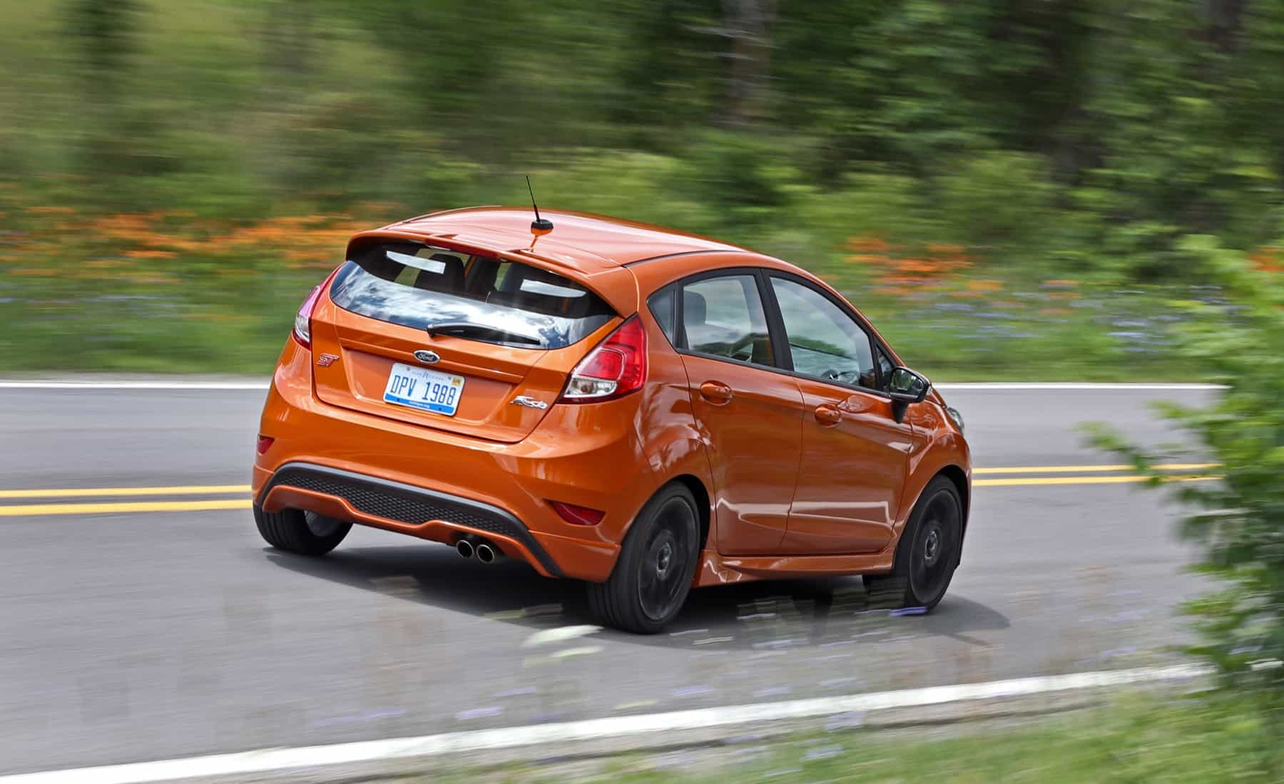2017 Ford Fiesta ST Test Drive Rear Corner (Photo 41 of 47)