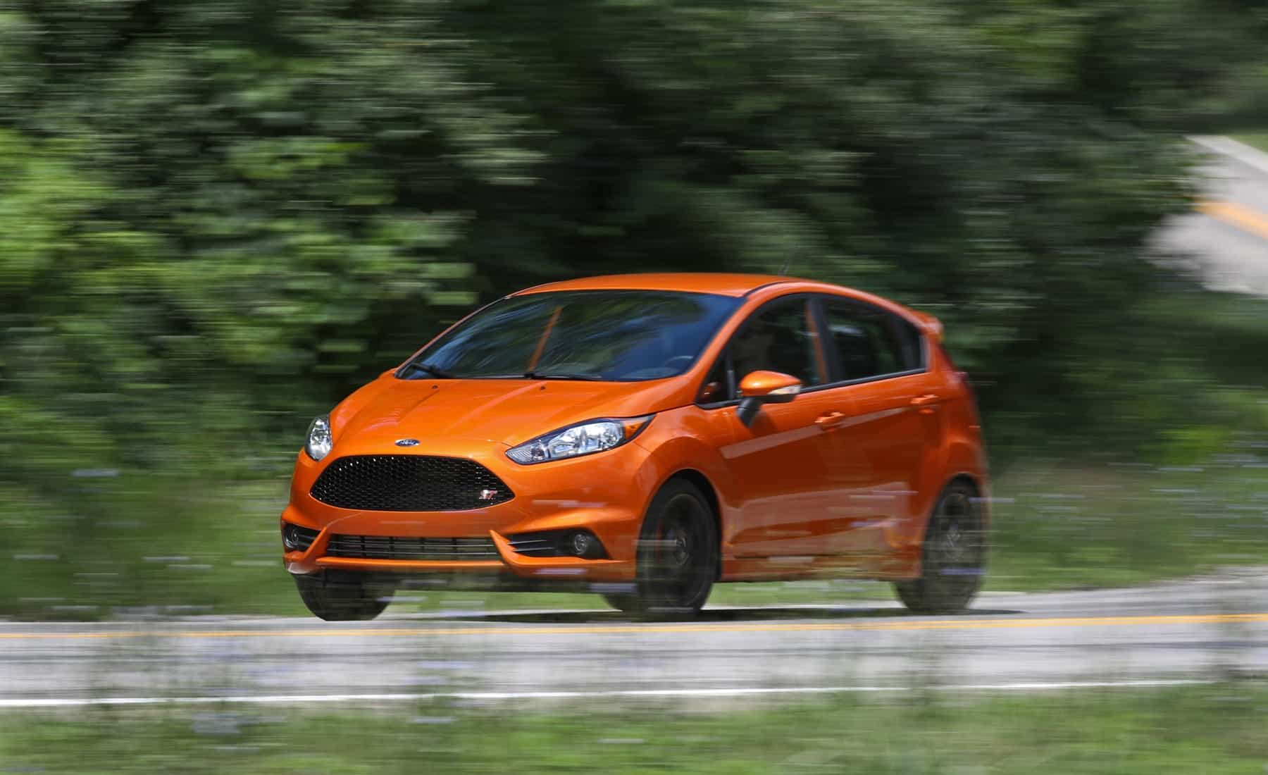 2017 Ford Fiesta ST Test Drive Side And Front View (Photo 42 of 47)