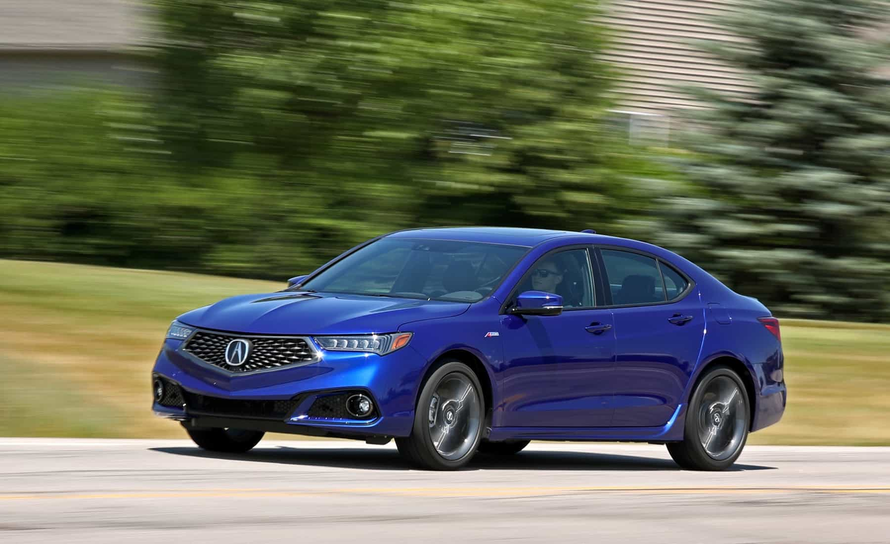 Featured Image of 2018 Acura TLX