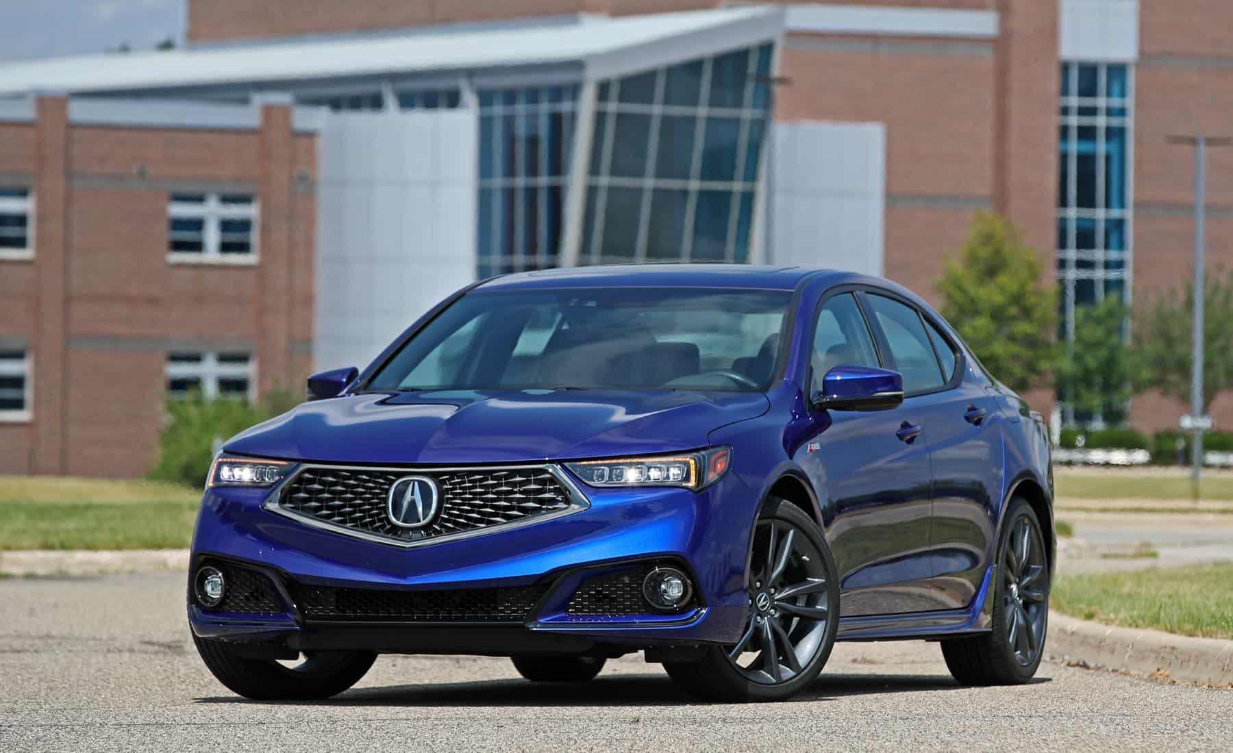 2018 Acura TLX Exterior Front (View 45 of 46)