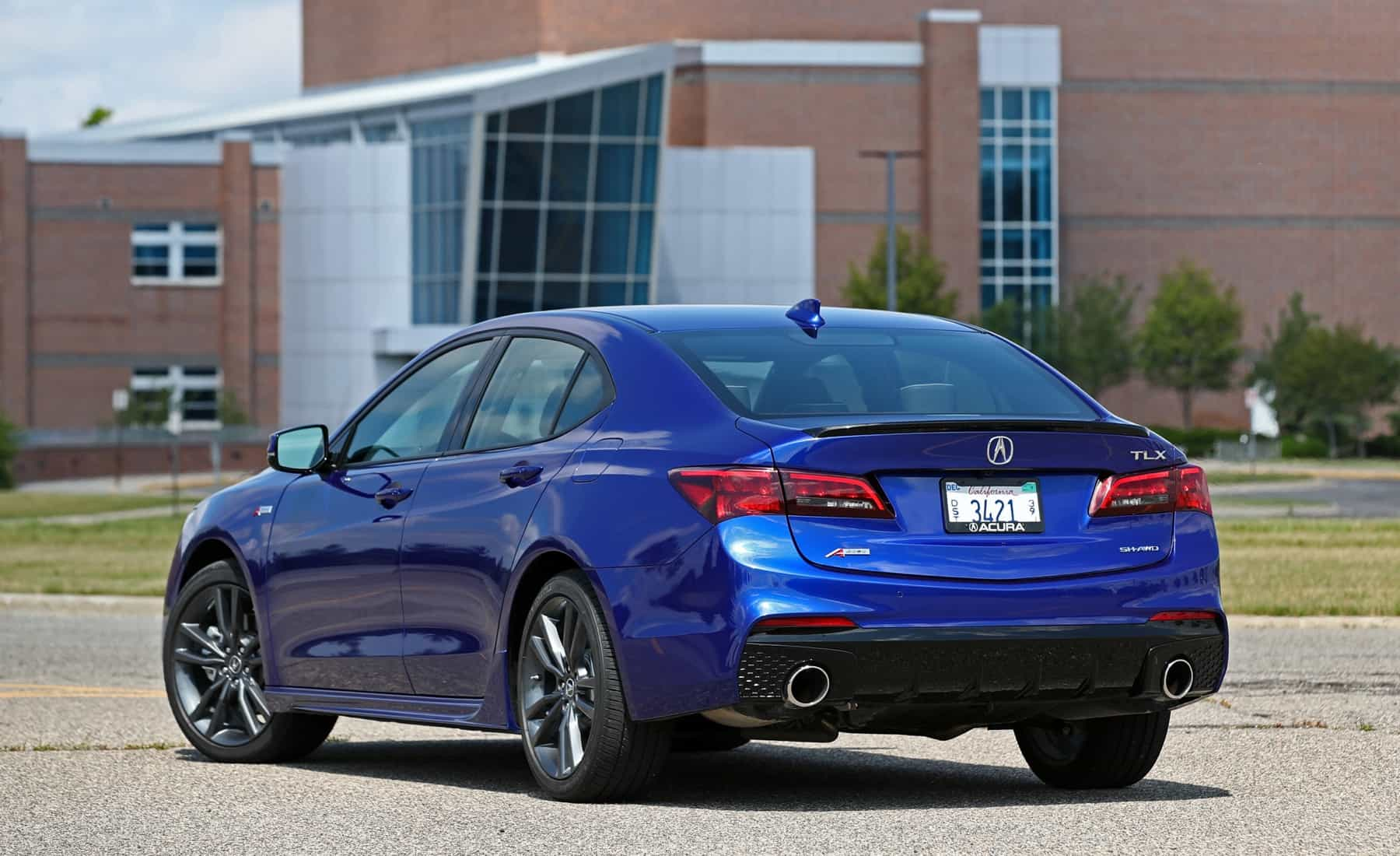 2018 Acura TLX Exterior Rear And Side (View 46 of 46)