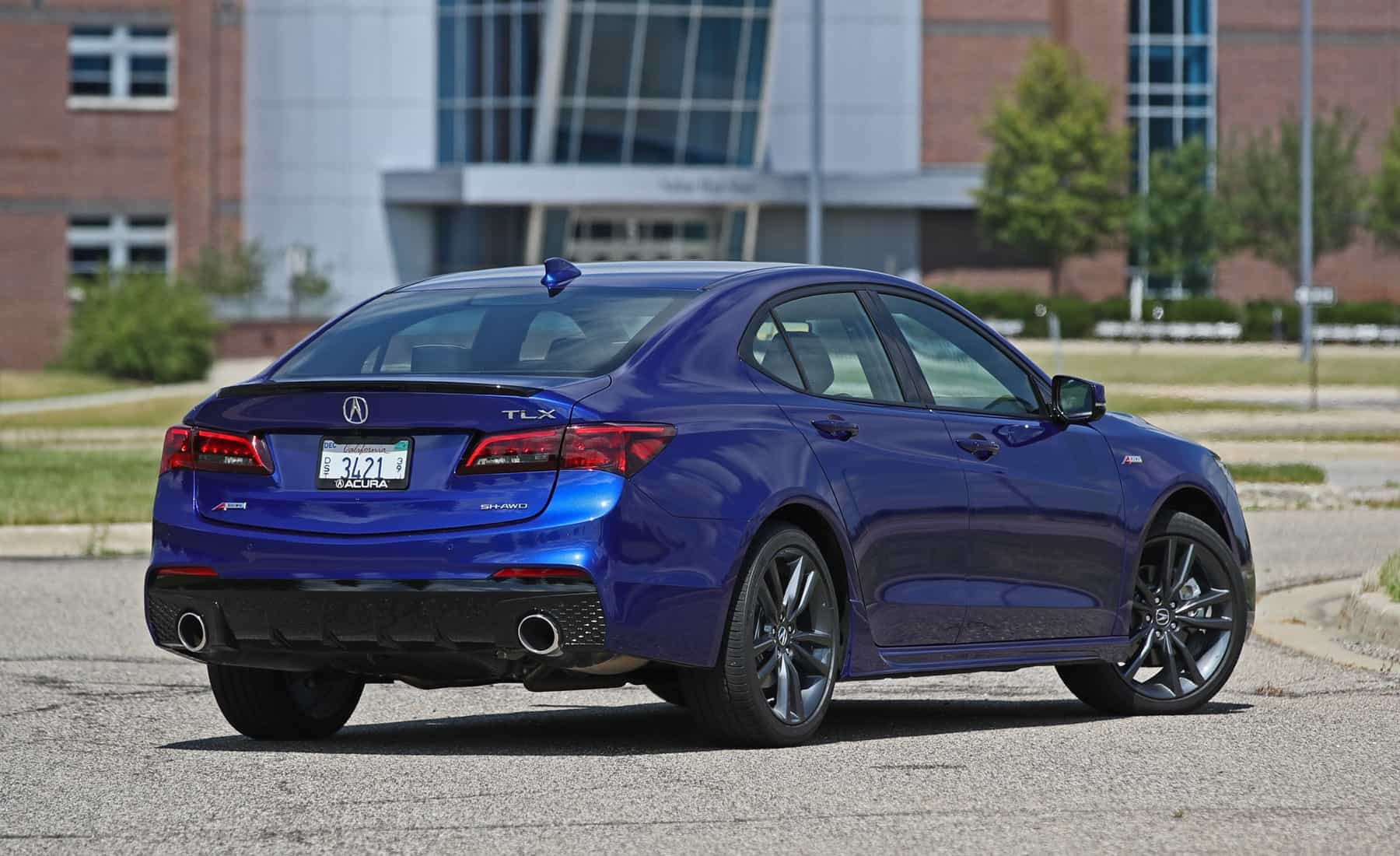 2018 Acura TLX Exterior Rear (View 41 of 46)