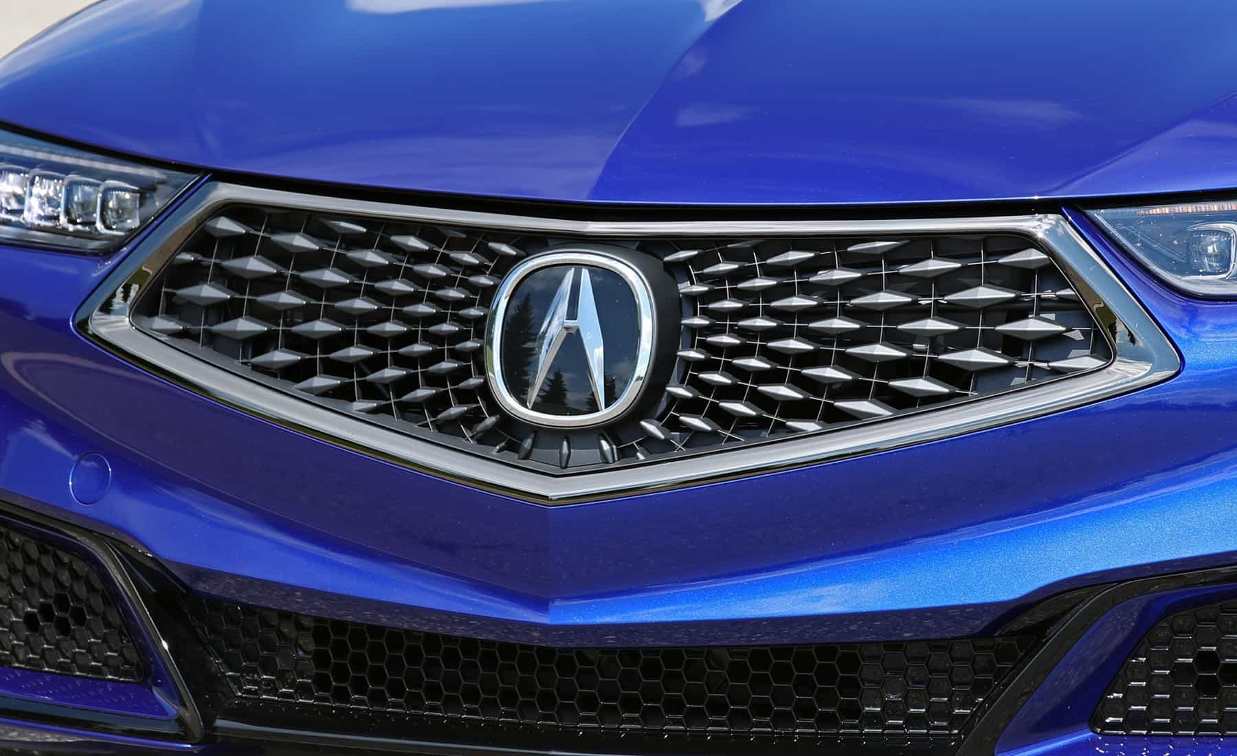 2018 Acura TLX Exterior View Grille And Badge (Photo 9 of 46)