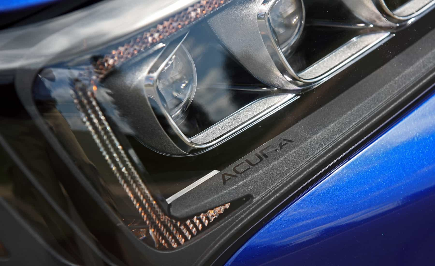 2018 Acura TLX Exterior View Headlight Projector (Photo 12 of 46)