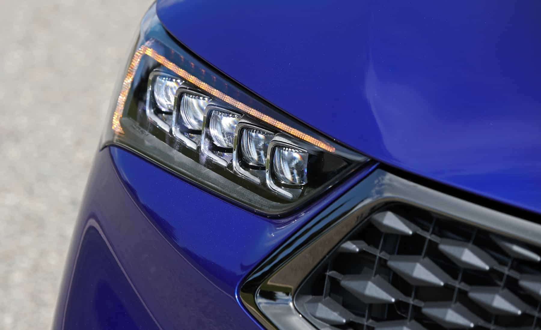 2018 Acura TLX Exterior View Headlight (View 40 of 46)