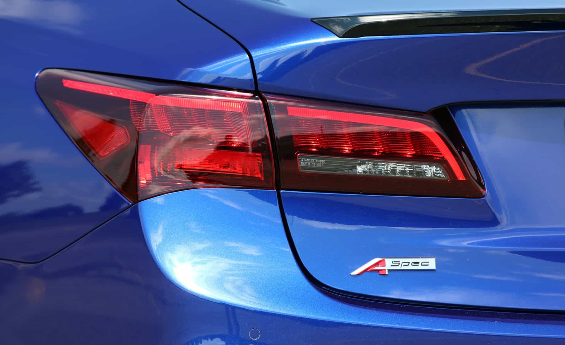 2018 Acura TLX Exterior View Taillight (View 27 of 46)