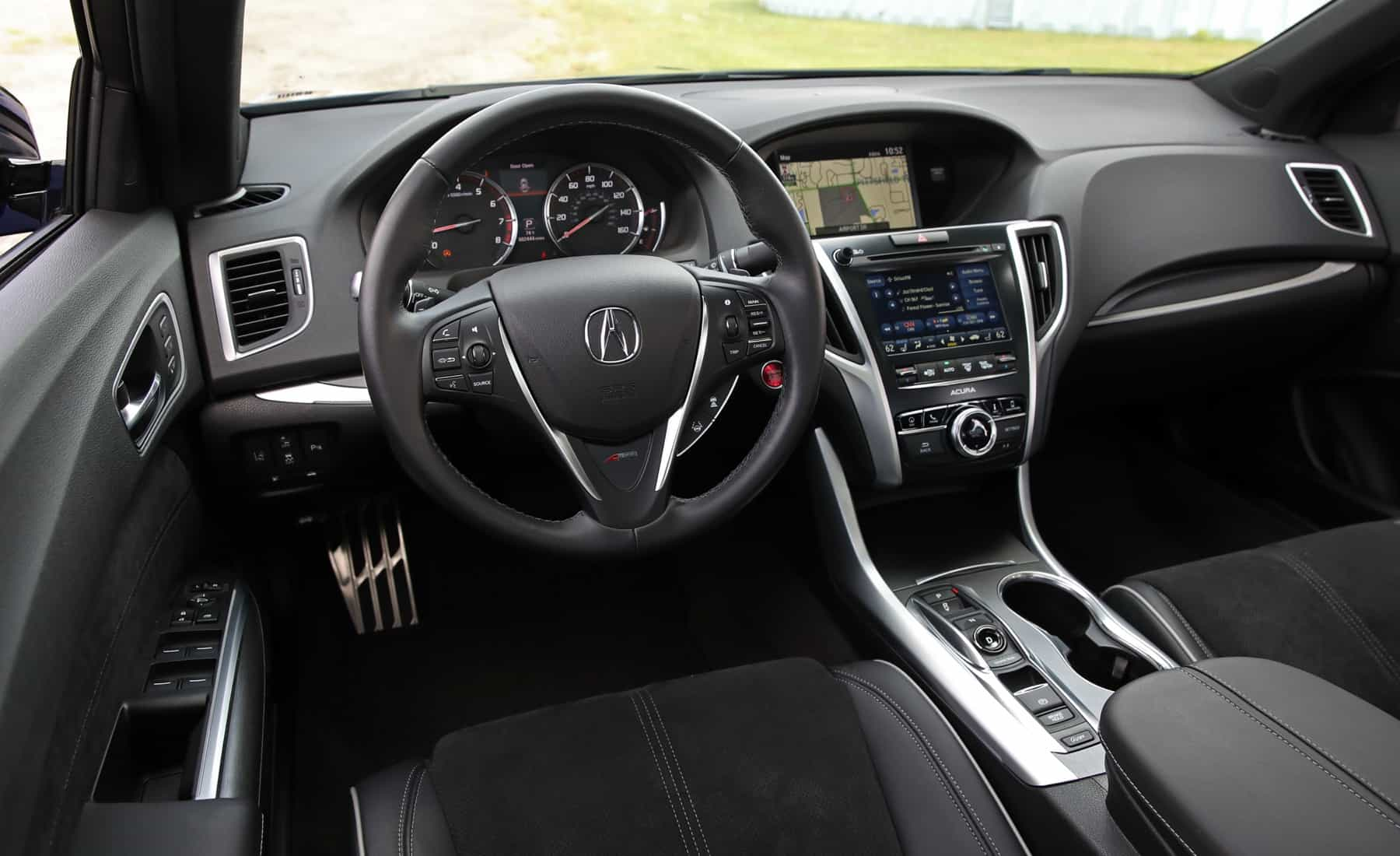 2018 Acura TLX Interior Dashboard And Steering (View 30 of 46)
