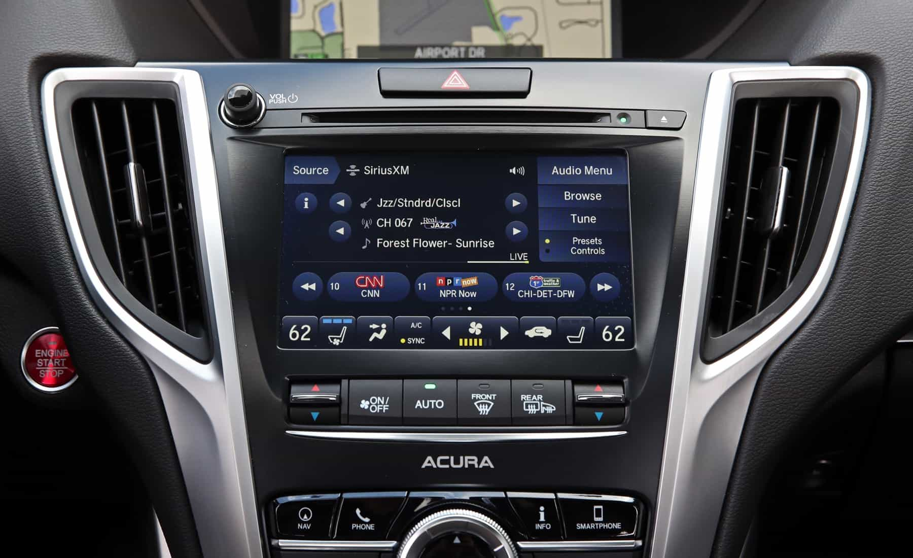 2018 Acura TLX Interior View Center Headunit Screen (View 20 of 46)