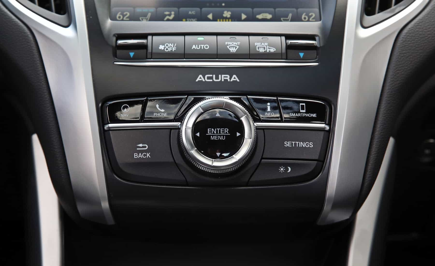 2018 Acura TLX Interior View Climate Control (Photo 31 of 46)
