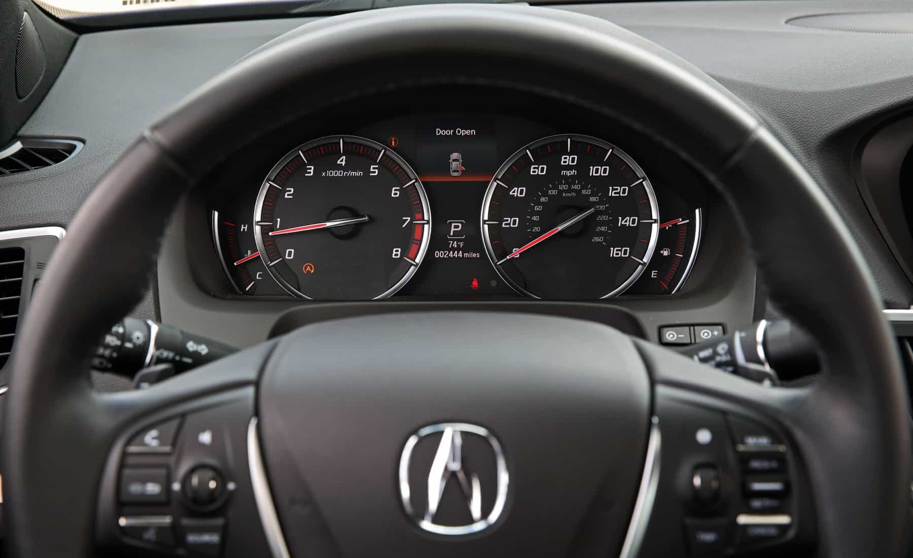 2018 Acura TLX Interior View Speedometer (View 14 of 46)