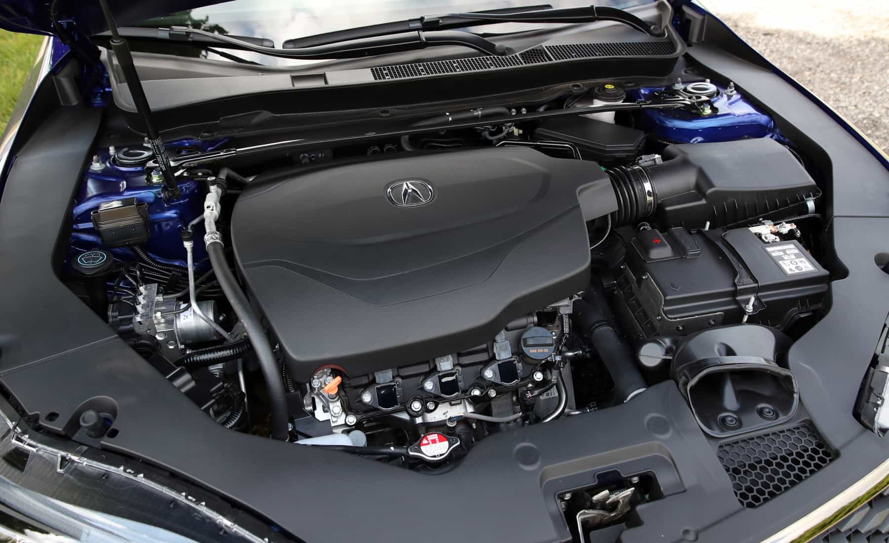 2018 Acura TLX View Engine (View 5 of 46)