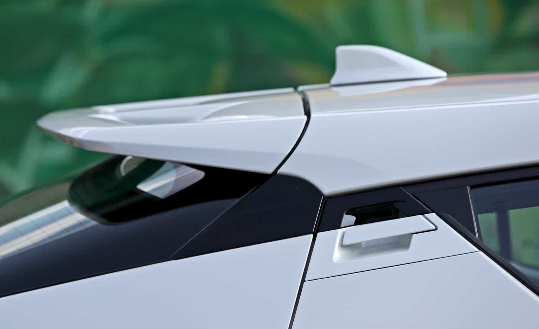 2018 Toyota C HR XLE Premium Exterior View Rear Roof Spoiler (Photo 14 of 52)