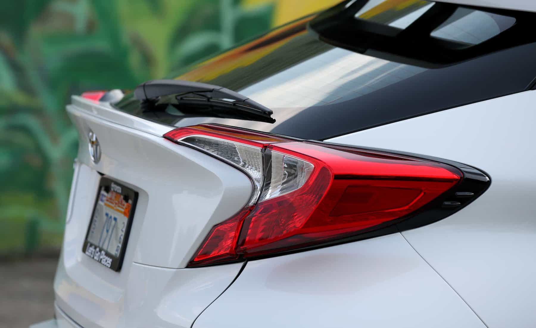 2018 Toyota C HR XLE Premium Exterior View Taillight Side View (Photo 18 of 52)