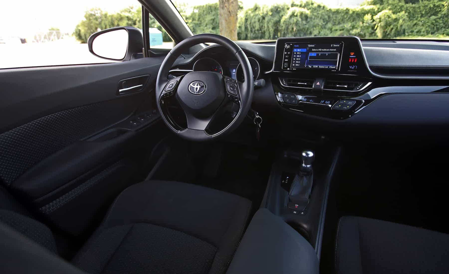 2018 Toyota C HR XLE Premium Interior Driver Cockpit And Dash (Photo 27 of 52)