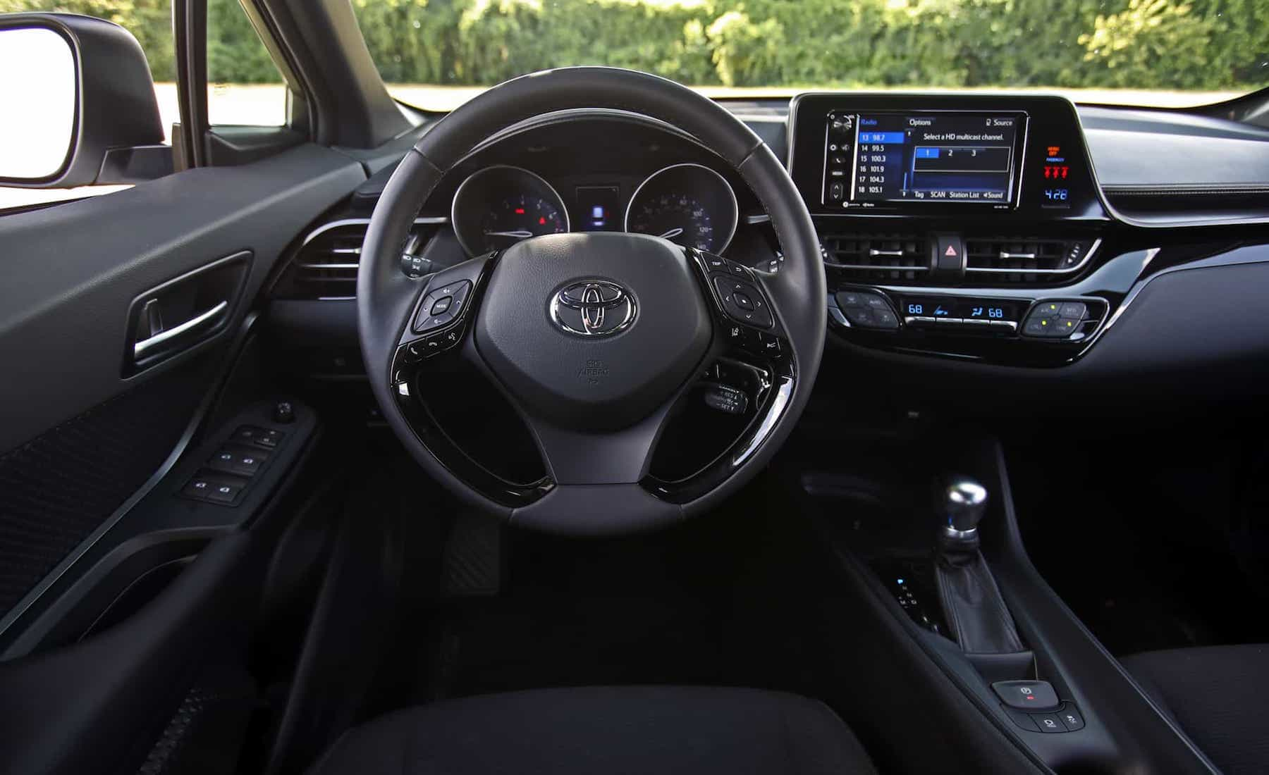 2018 Toyota C HR XLE Premium Interior Driver Steering (Photo 28 of 52)