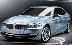 2012 new BMW ActiveHybrid 5