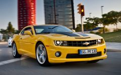 2012 Chevrolet Camaro EU Version Muscle Car Concept