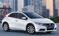 2012 Honda Civic EU-Version Dramatic Elegant Futuristic