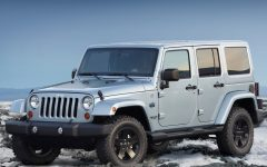 2012 Jeep Wrangler Arctic Winter Theme