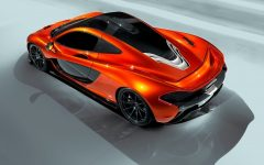 2012 McLaren P1 at Paris Motor Show