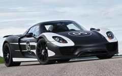 2012 Porsche 918 Spyder at Goodwood Festival of Speed
