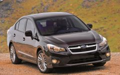 2012 All New Subaru Impreza info