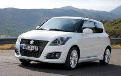 2012 Suzuki Swift Sport Aggressive Design Concept