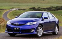 2012 Toyota Camry AU Version Review