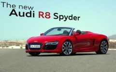 2013 Audi R8 Spyder Price Review