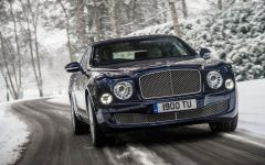 2013 Bentley Mulsanne Unveils at Geneva