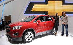 2013 Chevrolet Trax at 2012 Paris