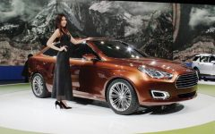 2013 Ford Escort Concept Revealed at China With $17,000