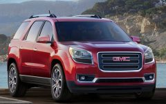 2013 GMC Acadia at Chicago Auto Show
