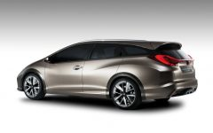 2013 Honda Civic Tourer Concept Review