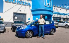 2013 Honda Fit EV Delivered in California