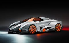 2013 Lamborghini Egoista | Single Seat Supercar Concept