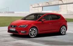 2013 Seat Leon at Paris Motor Show