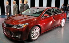 2013 Toyota Avalon at New York Auto Show