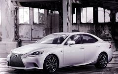 2014 Lexus IS at Detroit Auto Show