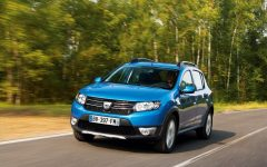 2013 Dacia Sandero Stepway at Paris
