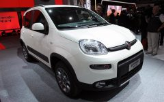 2013 Fiat Panda 4×4 at Paris Motor Show