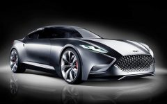 2013 Hyundai HND-9 Concept Supercar Unveiled at Seoul