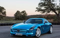 2014 Mercedes SLS AMG Coupe Electric Drive